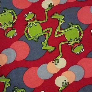 Kermit the Frog lularoe OS leggings
